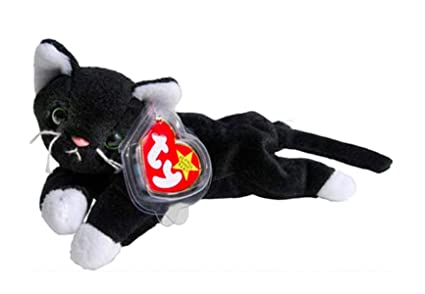 0e6e1f10c30 Image Unavailable. Image not available for. Color  Ty Beanie Babies Zip The Black  Cat ...