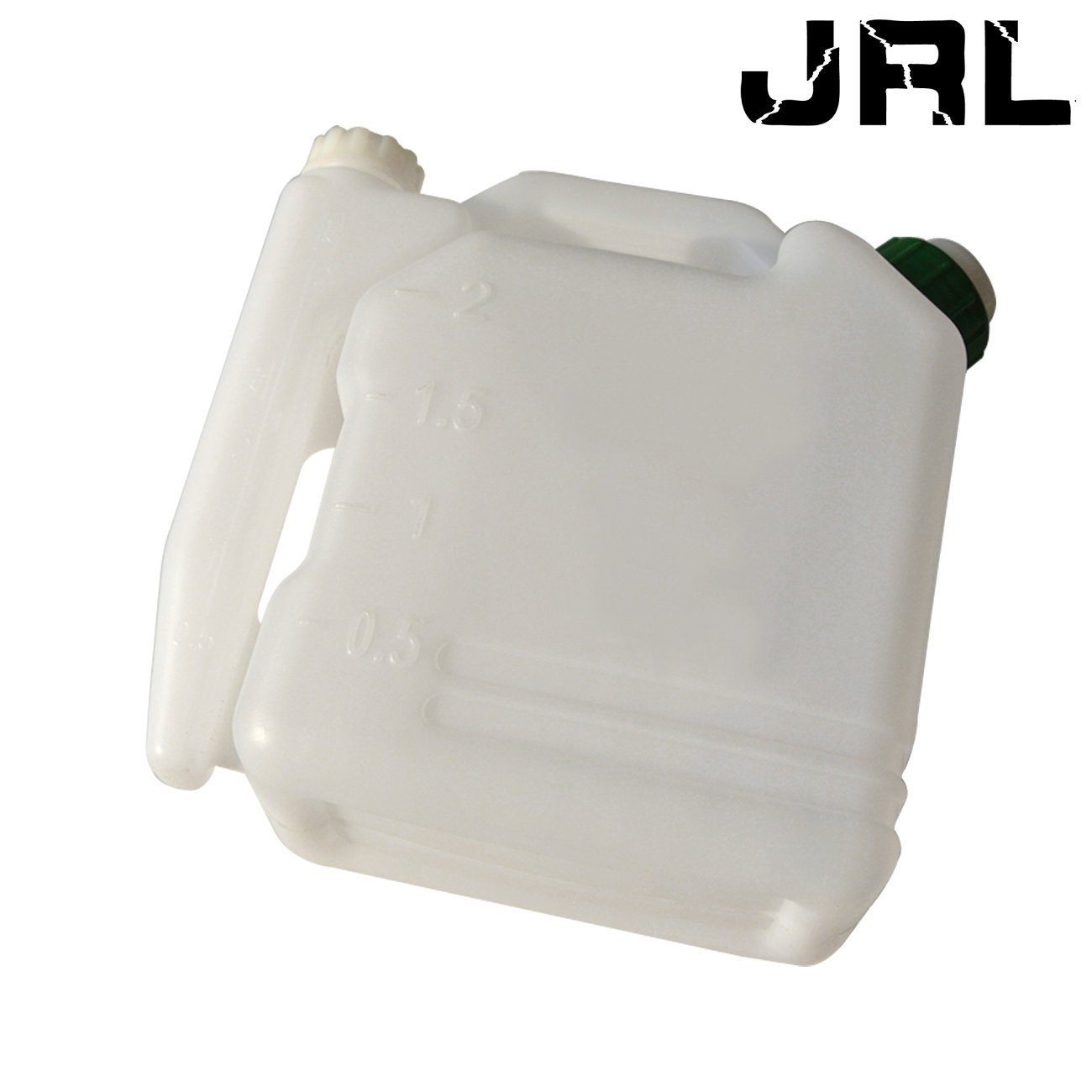 JRL 2L Oil Fuel Petrol Mixing Bottle Container Fits Gas Chainsaw Trimmers