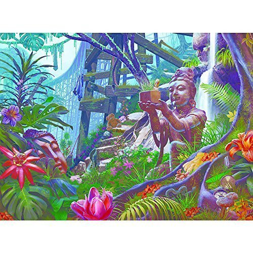 Ceaco Hope Diamond - Jungle Bluff Puzzle (1000 Piece) by Ceaco