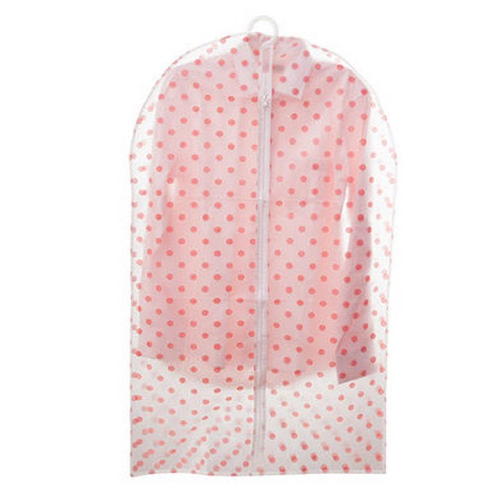 Translucent Suit/Garment Clothes Bag With Red Dot (Set of 6) Kylin Express