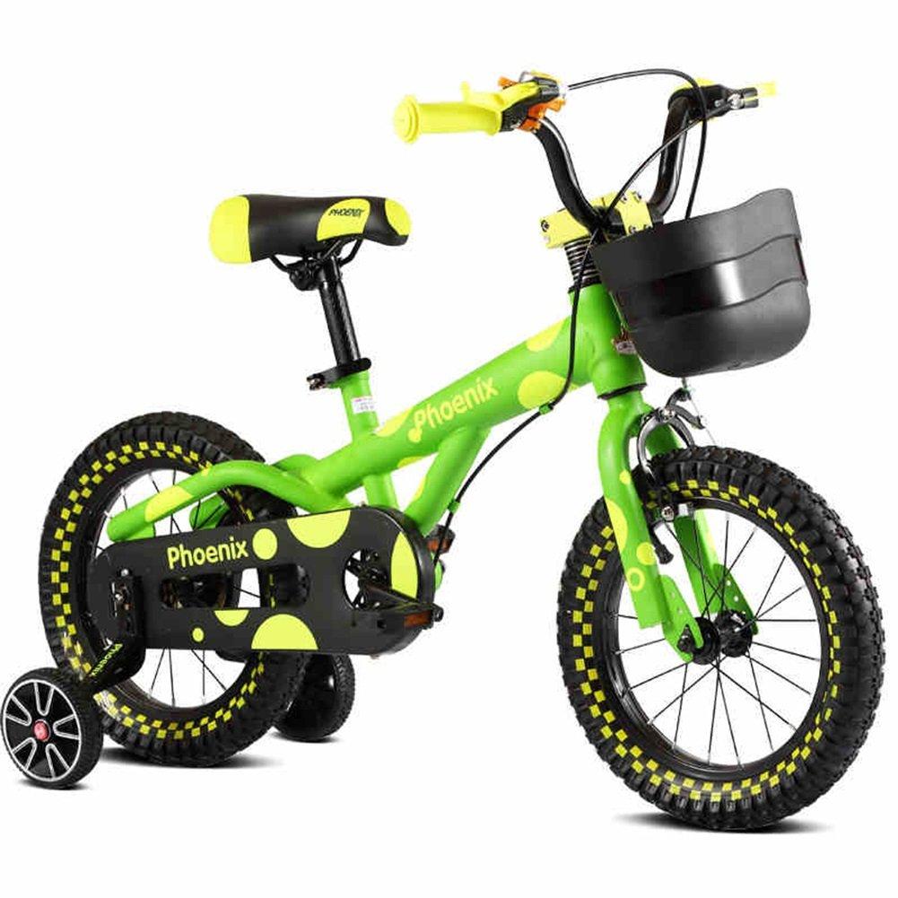 XQ HT-922ボーイズバイク グリーン、12/14/16インチ 子ども用自転車 ( サイズ さいず : 12 Inch ) B07C51GFCH12 Inch