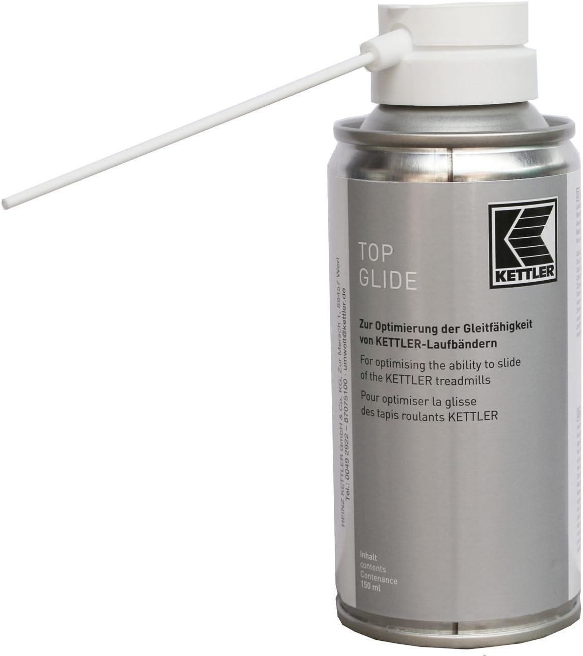 Kettler Cinta de Correr Spray Top Glide Pro 150 ml Unidad de Cinta ...