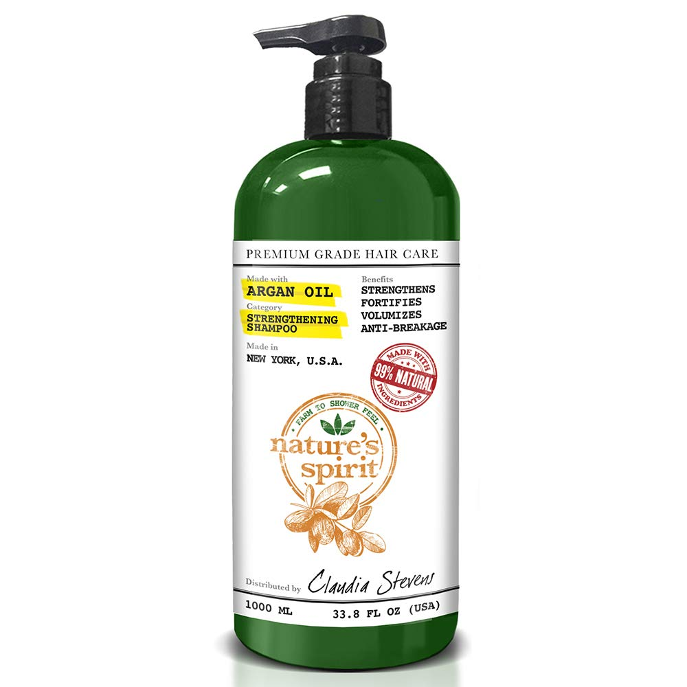 Nature's Spirit Argan Oil Shampoo 33 ounce