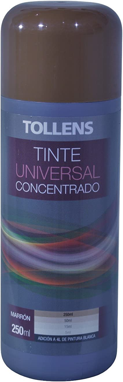 Tollens 8600 Tinte Universal Concentrado, Marrón, 250 ml