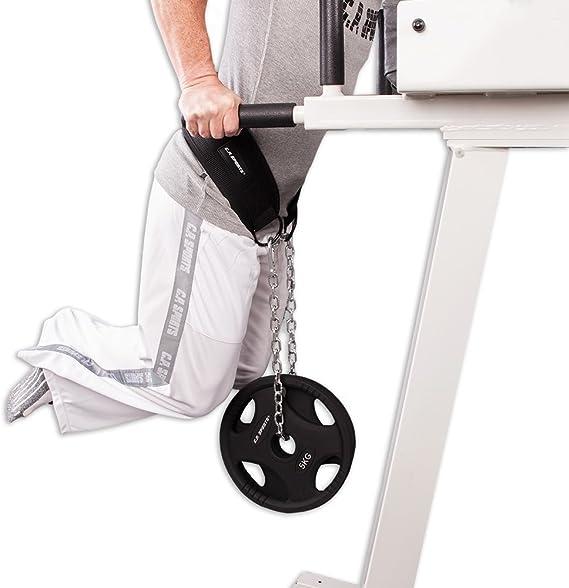 Dip-Gürtel Dipgürtel Klimmzüge Dips Gewichtsgürtel Klimmzug Gürtel  Griffpolster