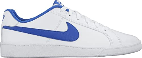 Nike Court Royale, Zapatillas Hombre, Blanco/Azul (White/Game Royal), 45 EU
