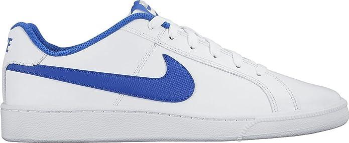 Nike Court Royale Sneakers Herren Weiß mit blauen Streifen