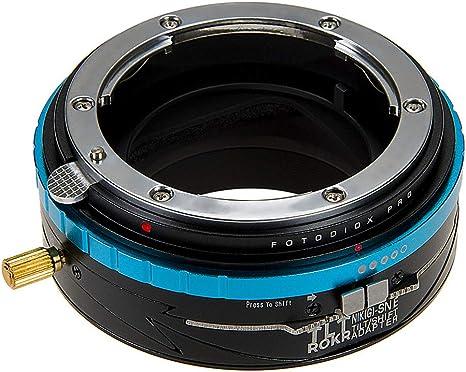 Fotodiox Pro TLT ROKR Tilt//Shift Lens Mount Adapter Compatible with Olympus Zuiko 35mm SLR Lenses to Fujifilm Fuji X-Series Mirrorless Camera Body OM