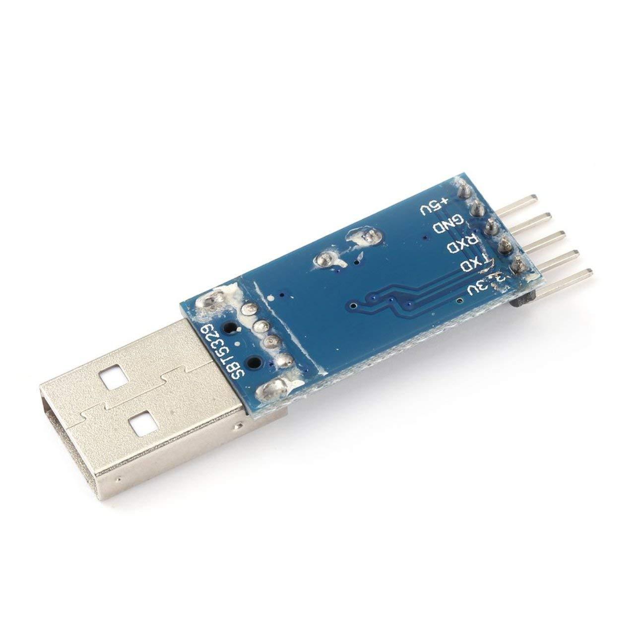 Pudincoco 1 pcs H161 PL2303 USB Adaptateur Convertisseur Module pour La D/étection De La Voiture GPS pour Arduino Support WIN7 Syst/ème