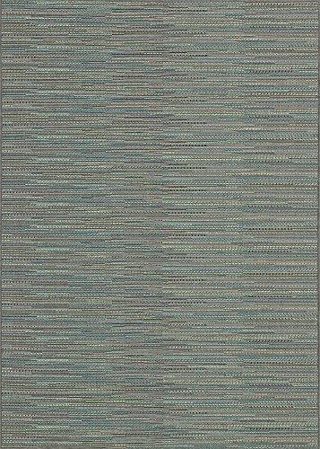 Couristan 2471/2200 Monaco Larvotto Area Rugs, 8-Feet 6-Inch by 13-Feet, Blue