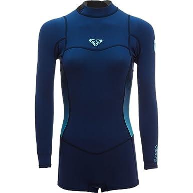 b9897066da Roxy Womens Syncro 2 2Mm - Back Zip Long Sleeve Springsuit - Women - 12