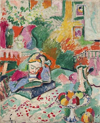 [Oil Painting 'Interior With A Girl Reading 1905 By Henri Matisse', 20 x 24 inch / 51 x 62 cm , on High Definition HD canvas prints is for Gifts And Bath Room, Kids Room And Living Room Decoration,] (Maleficent Toddler Costumes)