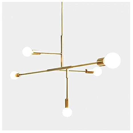 Yoka modern metal pendant lighting hanging lamp ceiling chandelier yoka modern metal pendant lighting hanging lamp ceiling chandelier with 5 lights fixture flush mount aloadofball Image collections