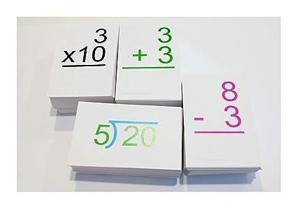 Amazoncom 663 Flash Cards 012 Addition Subtraction