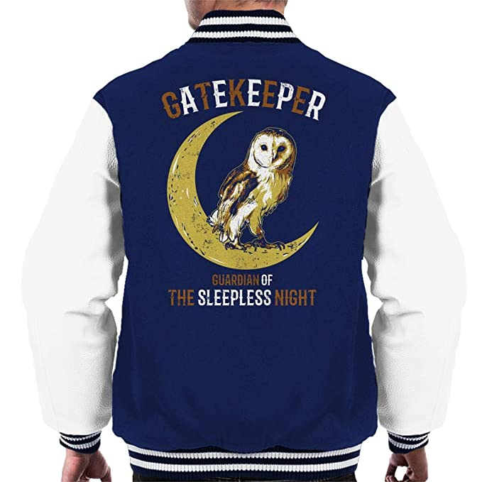 Coto7 Gatekeeper Owl Mens Varsity Jacket: Amazon.es: Ropa y ...