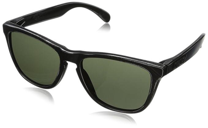 mens wayfarer sunglasses vx9p  Oakley Men's Frogskins 24-413 Wayfarer Sunglasses,Black Decay,55 mm