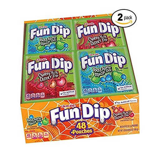 FUN DIP (Lik M Aid) 48ct (2 Pack)