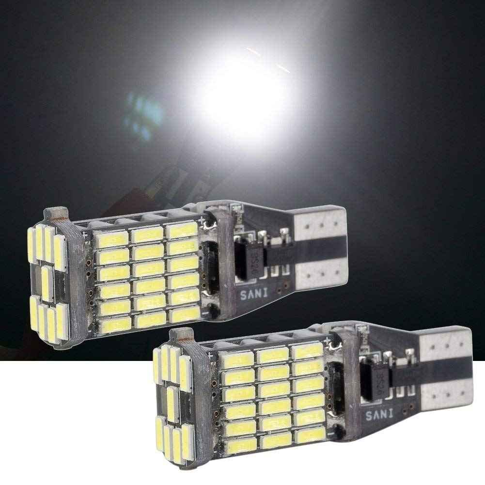 Biqing Car Number Plate Lights LED Bulbs Festoon 6418 C5W 31mm 1.25 6000K Canbus Error Free DE3175 DE3021 DE3022 Interior lights License Plate lights 18-SMD Xenon White Pack of 4