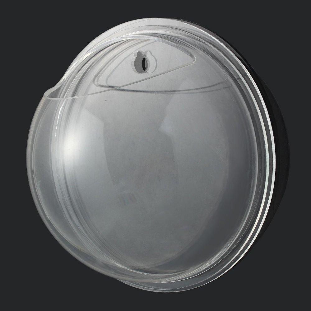 Sotoboo - Macetero de pared para colgar - hecho de acrílico transparente - ideal como jarrón de flores, plantas, pecera o acuario - para decoración del ...