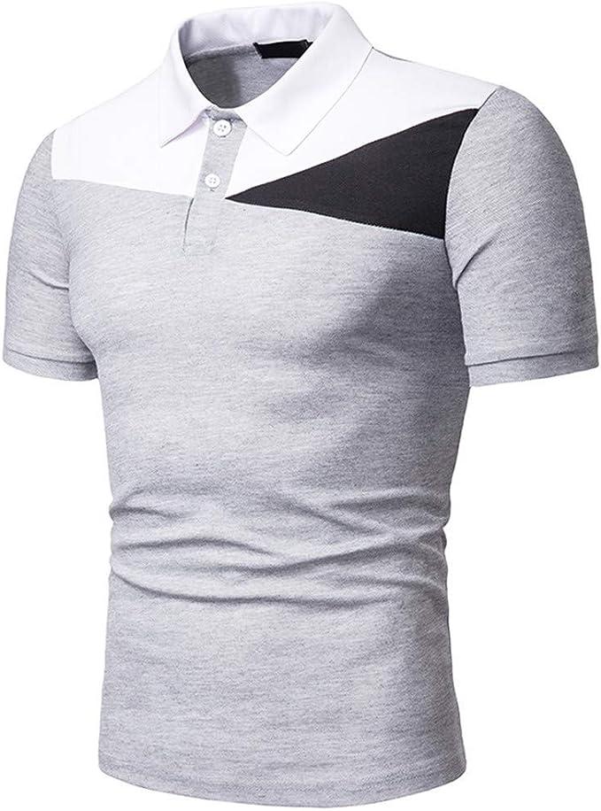 iCerber - Camiseta de Manga Corta para Hombre de Manga Corta para ...