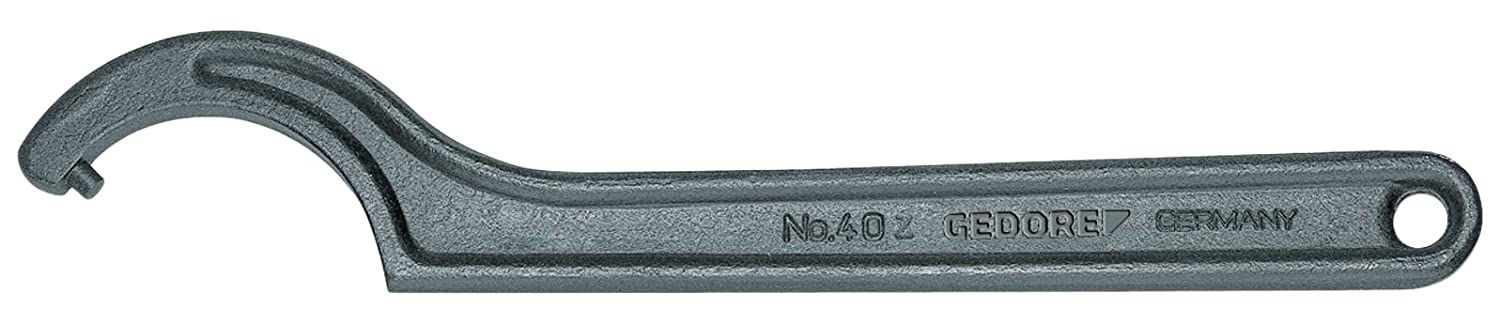 GEDORE 6337710 Hook Wrench with Pin 135-145 mm