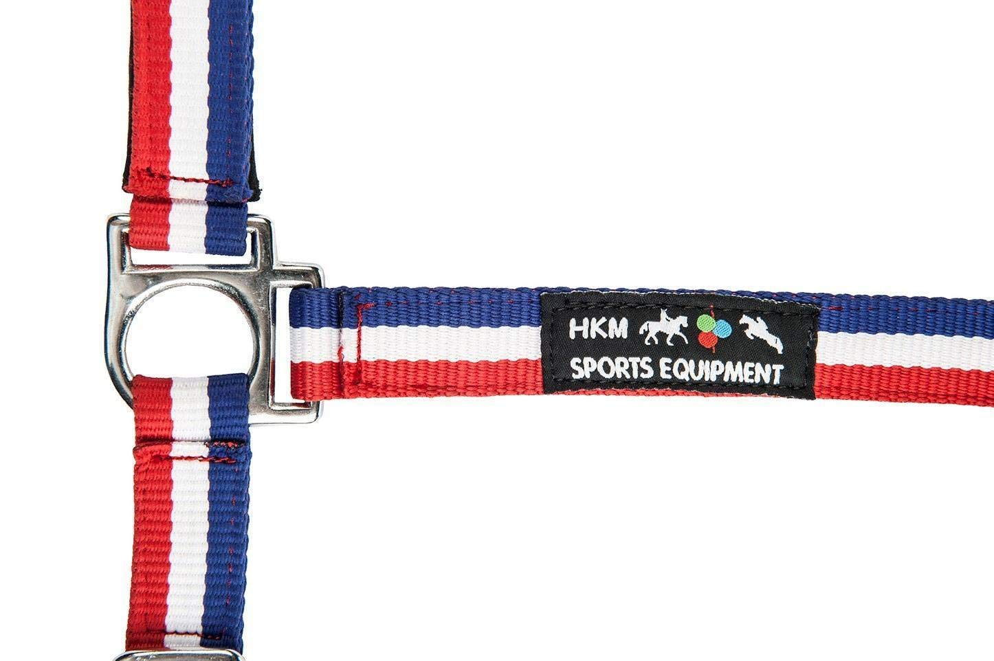 HKM Flags Headcollar with Snap Hook