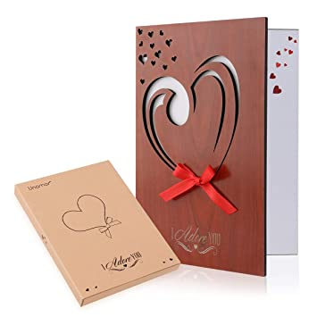 Amazon Com Unomor Valentines Day Cards Valentines Gifts Love Card
