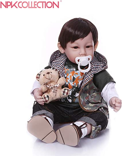 An Adorable Reborn Toddler Dolls 30in Silicone Vinyl Reborn Baby Dolls Real Look