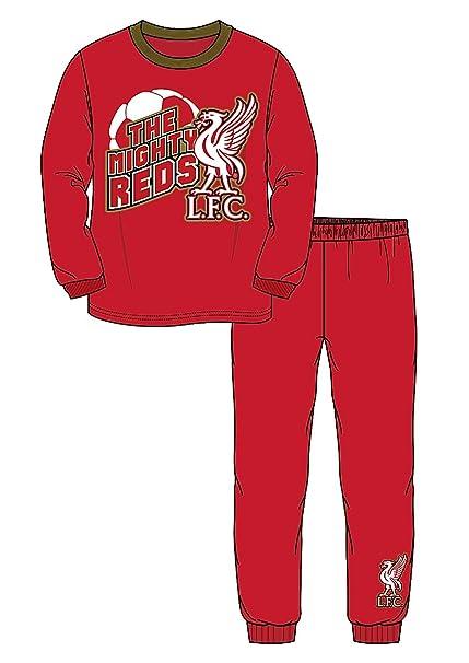 Liverpool F.C. - Pijama dos piezas - para niño rojo rosso