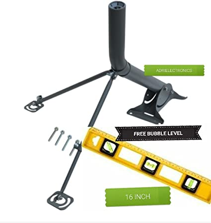 2 Support Arms Monopoles braces DIRECTV KA//KU slimline DISH antenna long//short