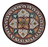 Ceramic Plates Moroccan Handmade Serving Wall