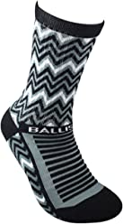 Ballislife EV2 Zag Black Socks (1 Pair)