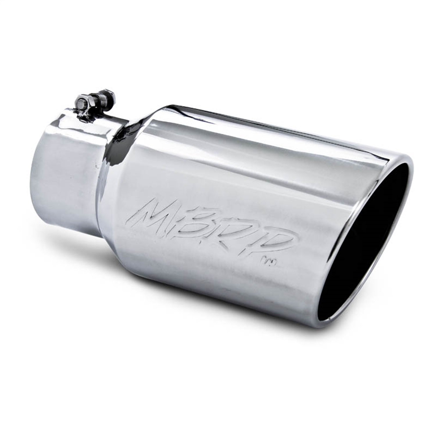 MBRP T5073 6'' O.D. Angled Rolled Exhaust Tip (T304) by MBRP (Image #1)