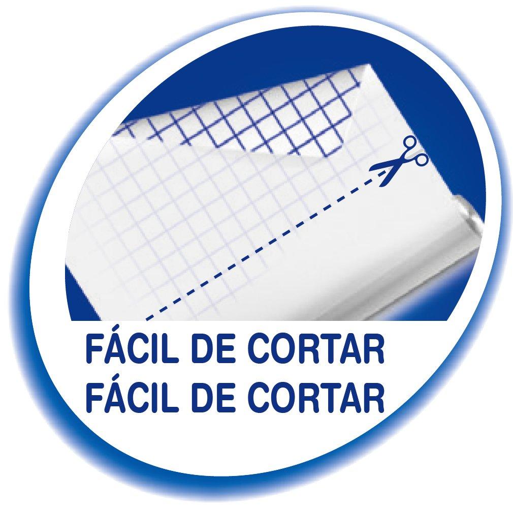 Blanc BIC Velleda Rouleau Adh/ésif Effa/çable /à Sec 67x100 cm x1
