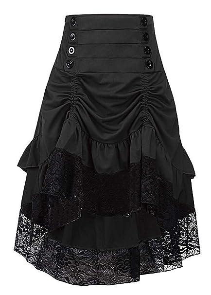 Amazon.com: Ku-lee - Vestido de falda baja para mujer ...