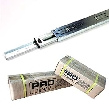 Pack  Pairs Pro Series   Drawer Slides  Inches
