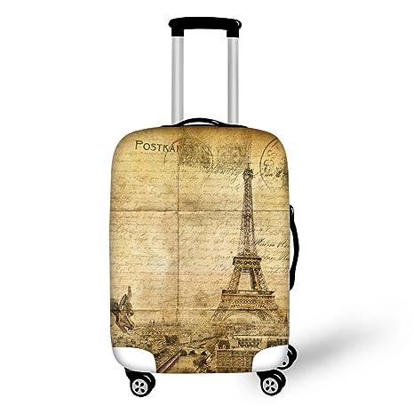 Elástico Carcasa Torre Eiffel Retro maletín para maletín ...