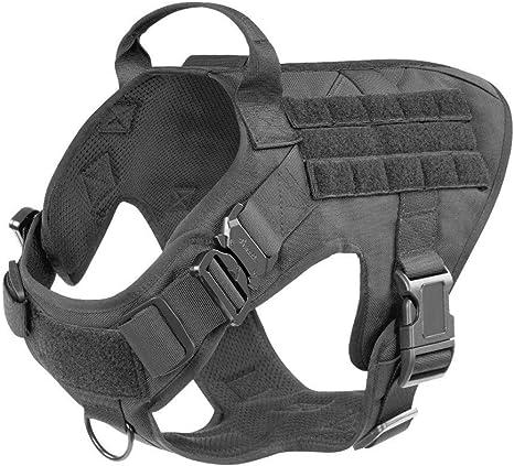 Arnés Modular para Perros Tácticos Militares Sin Tirón Clip ...
