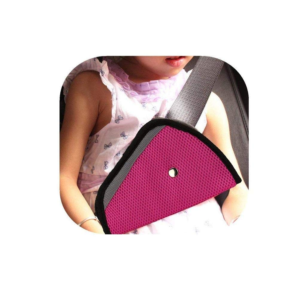 Fashion Clearance! Noopvan Car Safety Cover Strap Adjuster Pad Harness Seat Belt Clip for Baby Kids (Pink)