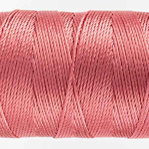 This sturdy 6-ply 100/% rayon thread is comparable in weight to a #8 perle cotton. Coral Rose WonderFil Specialty Threads Razzle
