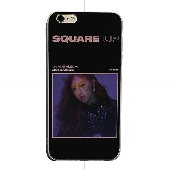 Amazoncom Blackpink Jisoo Jennie Rose Lisa Soft Tpu Phone