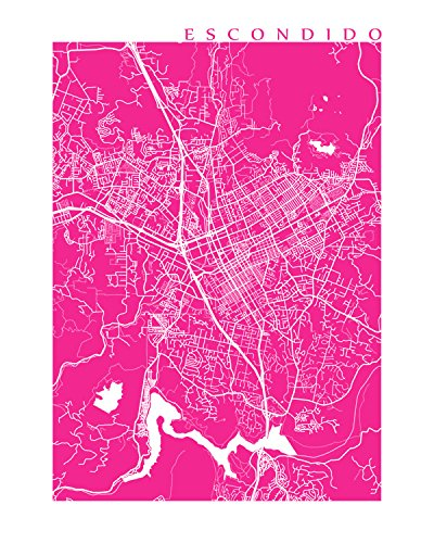 escondido-map-print