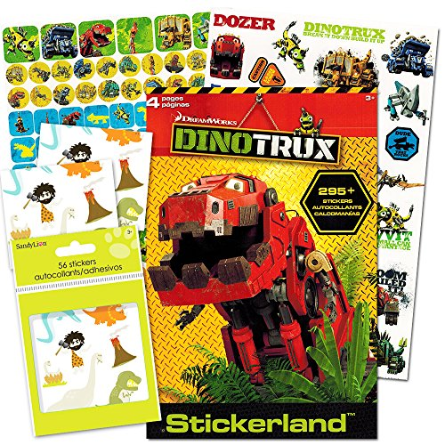 Dinotrux Stickers Party Set