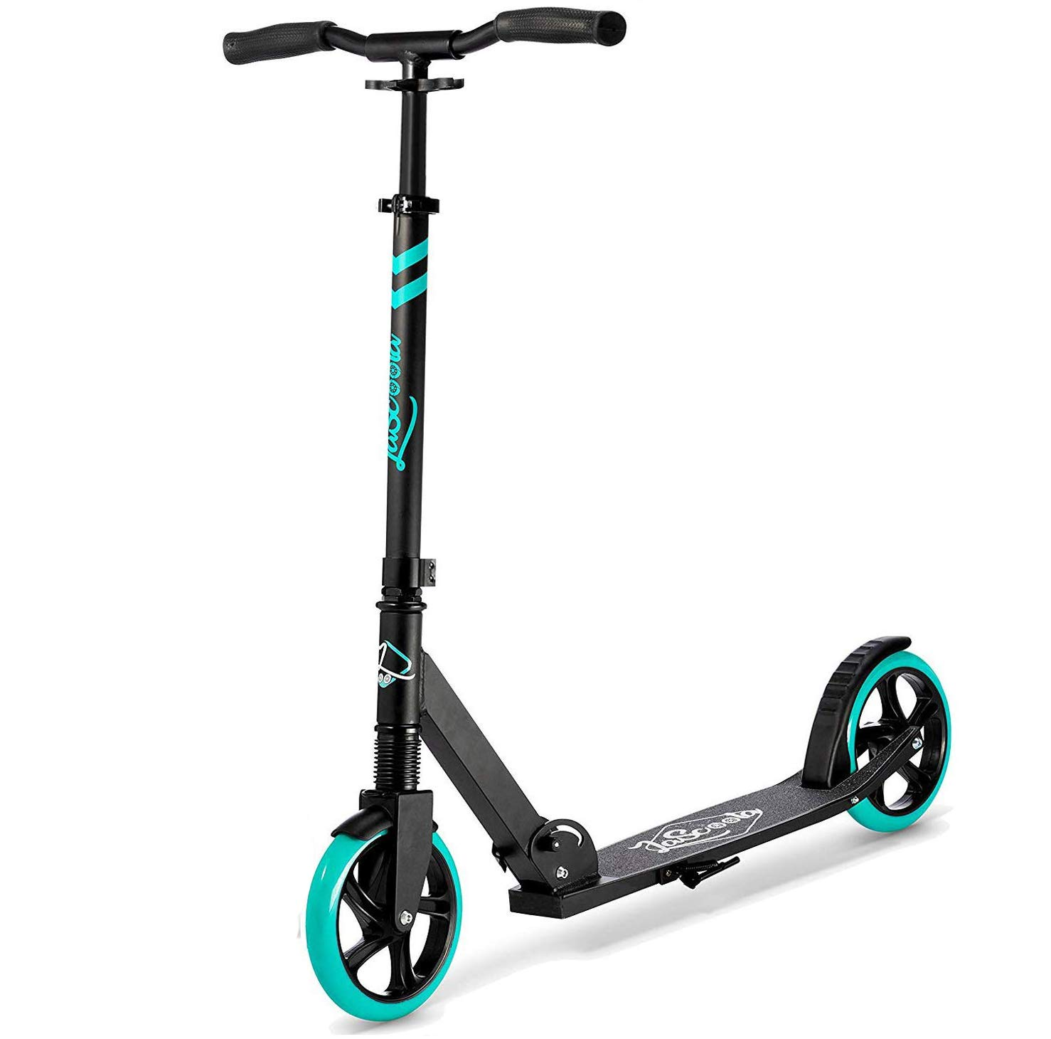 Lascoota Scooters for Kids 8 Years and up - Featuring Quick-Release Folding System - Dual Suspension System + Scooter Shoulder Strap 7.9'' Big Wheels Great Scooters for Adults and Teens by Lascoota