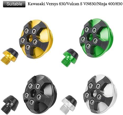 Amazon.com: Motocicleta Motor de aluminio CNC tapón de ...