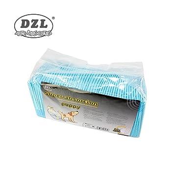 DZL Empapadores para perros (40*50)un paquete 50 unidades: Amazon.es: Bebé