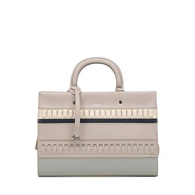 a1f58a6ea28 Radley Hill House Medium Multiway Grab Bag Craft Stripe - Dove Grey -  14975: Amazon.co.uk: Shoes & Bags