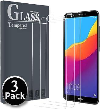 Ferlinso Cristal Templado Huawei Honor 7C, Protector de Pantalla ...