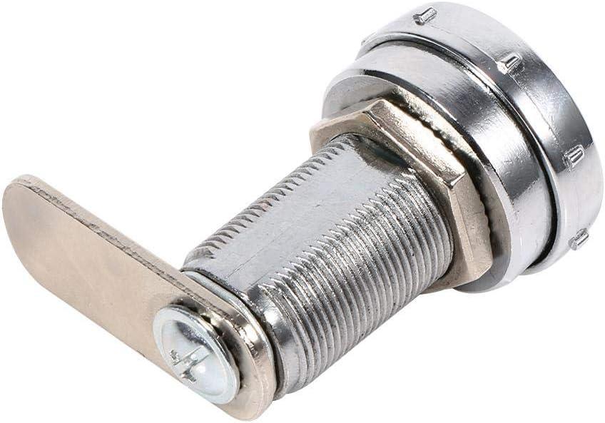03 Pasamer Sicherheits-Codeschloss 3-stelliger Code-Kombinationskameraschrank aus silberner Zinklegierung Praktisches Passwort f/ür den Schubladenschrank