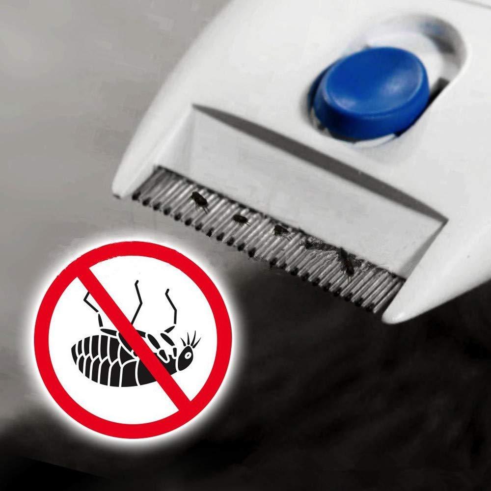 Y&J Flea Doctor Comb Electric Dog Anti Flea Comb Head Lice Remover Pets Flea Control Flea&tick Killer Pets Products by Y&J (Image #4)
